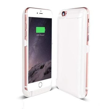 For Apple iPhone 6/6s  Battery Case Rechargeable Charger Portable Charging Cover
