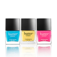 butter LONDON Pop Art Trio - Limited Edition