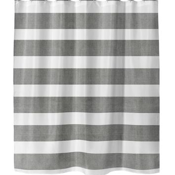CENTERVILLE CHARCOAL Shower Curtain By Terri Ellis