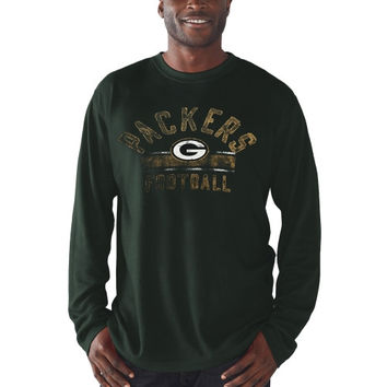 Green Bay Packers Free Safety Thermal Long Sleeve T-Shirt – Green