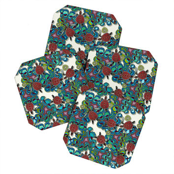 Sharon Turner Turtle Reef Coaster Set