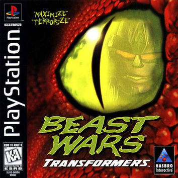 Beast Wars: Transformers (Sony PlayStation 1, 1998) Complete