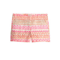 crewcuts Girls Frankie Short In Geometric Floral