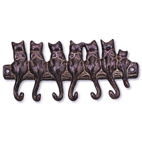 Seven Cat Key Hook