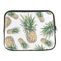 "Grrl Pineapple Fruit 13"" 13.3"" Inch Laptop Sleeve Bag for Apple Macbook pro, Lenovo, Dell Inspiron, Vostro, Samsung, ASUS UL30, Toshiba Notebook YS060600"