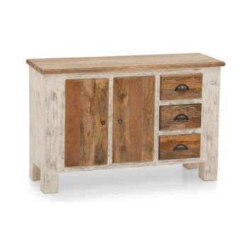 Distressed Rustic Console Table