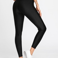 Active High Waist Crop LeggingsFor Women-romwe