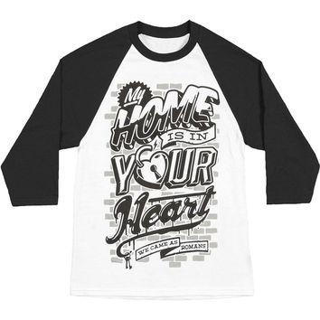 We Came As Romans Men's  Home Baseball Jersey White Rockabilia