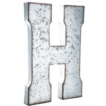 Galvanized Metal Letter Wall Decor - A | Hobby Lobby | 871723