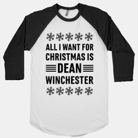 All I Want For Christmas Is Dean Winchester