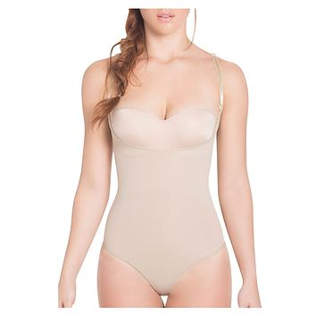 Siluet TF932P Light Compression Panty Style Braless Shaper Color Nude