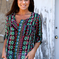 Santa Fe Girl {Purple Multi}