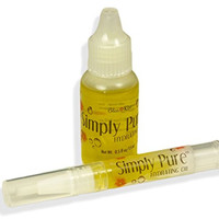 Bliss Kiss Simply Pure Cuticle & Nail Oil Starter Kit - Crisp - Better Than OPI Avoplex