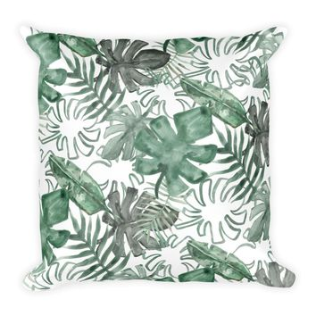 Tropical Palms Pillow