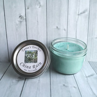Soy Candle China Rain Fragrance  Natural Soy Scented Candle