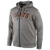 Nike San Francisco Giants Wordmark KO Fleece Hoodie - Men