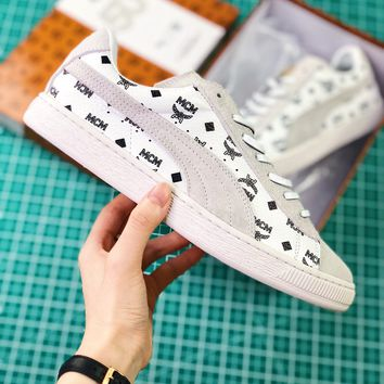 Mcm X Puma Suede Classic White | 366299-02 Sneaker - Best Online Sale