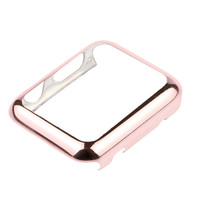Waterproof Plating Light Ultrathin Front Case Cover For Apple Watch i Watch 42 mm 38mm 4 Color