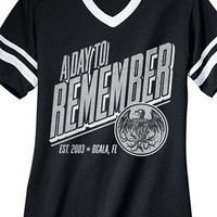 A Day To Remember | Throwback Football Shirt