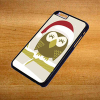 Christmas Owl For iPhone 6 Plus Case *76*