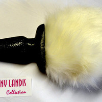 JENNY LANDIS Bunny Tail Butt Plug - perfect for cosplay, kitten play, halloween, costumes