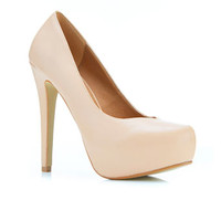 Sassy Heart Nude - Heels - Shoes
