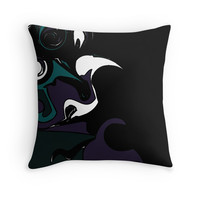 'Abstract' Throw Pillow by breezeybri