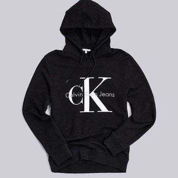 Calvin klein Long Sleeve Pullover Sweatshirt Top Sweater Hoodie-1