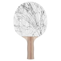 Winter Grass In Snow Ping Pong Paddle