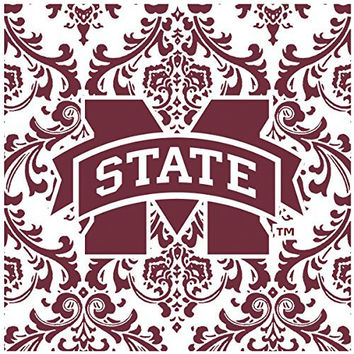 Thirstystone Occasions Square Trivet, Mississippi State University, Multicolor