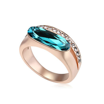 New Arrival Jewelry Gift Stylish Shiny Crystal Ring [4989614212]