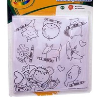 Crayola Color Your Own Shaky Stickers