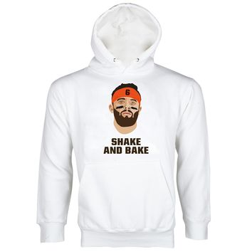 Baker Mayfield Hoodie Browns Sweatshirt Hoodies Baker Mayfield Shake and Bake