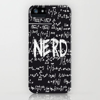 Nerd iPhone Case by Ally Coxon | Society6