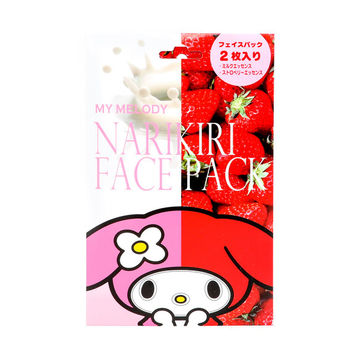 My Melody Narikiri Face Mask Pack: Strawberry & Milk