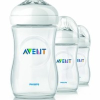 Philips AVENT BPA Free Natural Polypropylene Bottle, 3 Pack (Discontinued by Manufacturer)
