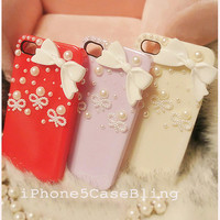 iPhone 4 Case, iPhone 4s Case, iPhone 5 Case, iphone cover 4 case, Cute iphone 4 case, Cute iphone 5 case, Bow iPhone 5 case, case iphone 4