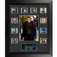 Batman Dark Knight Joker Mini Montage Framed Film Cell