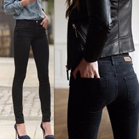 2017 Women Stretch Jeans