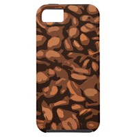 Modern Coffee Beans Background iPhone SE/5/5s Case