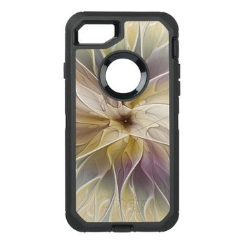 Floral Fantasy Pattern Abstract Fractal Art OtterBox Defender iPhone 7 Case