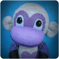 Stacey Jean | Argo - Handmade Sock Monkey Plush Doll | Online Store Powered by Storenvy
