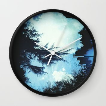 In the Wind Wall Clock by Ducky B