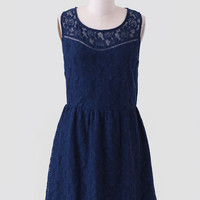Always Be Mine Lace Dress
