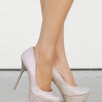 Holiday Sequins Heels