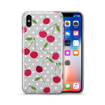 Cherry Bomb  - Clear Case Cover