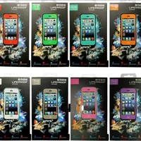Lifeproof case for iphone 5 perfect waterproof case for 5 - 10 colors!