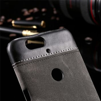 Fashion Phone Cases for Nexus 6P 5  PU Leather Case
