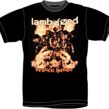 Lamb Of God T-Shirt - Broken Hands