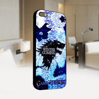Game Of Thrones Logo - Photo on Hard Cover For Iphone 4/4S Case, iPhone 5 Case - Black, White, Clear